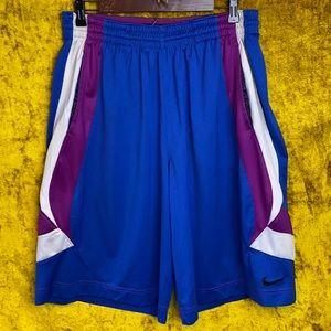 Nike Basketball Vintage 90s Purple Shorts Size XL